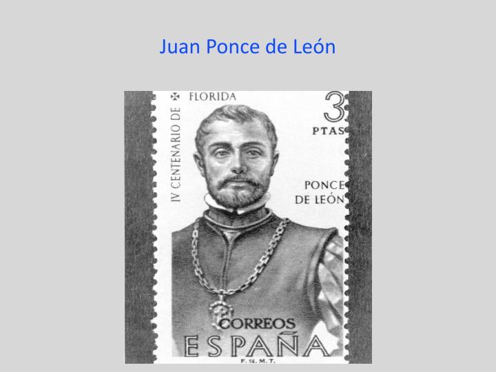 Juan Ponce de Le
