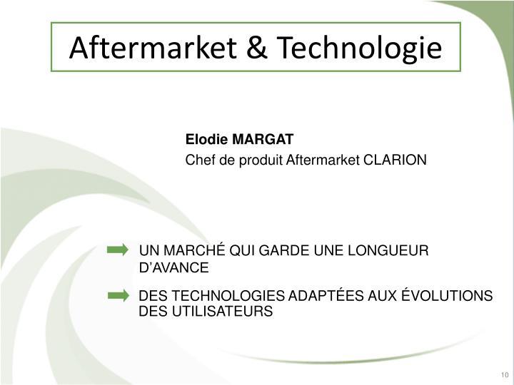 Aftermarket & Technologie