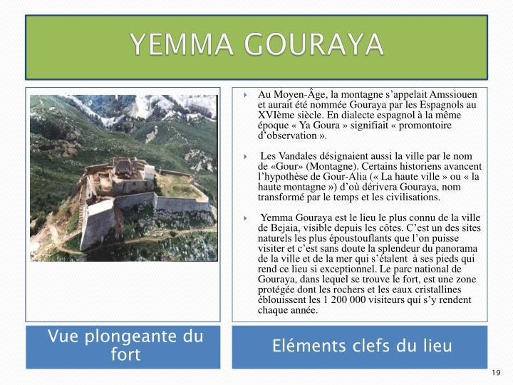 YEMMA GOURAYA