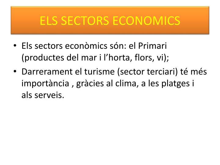 ELS SECTORS ECONOMICS
