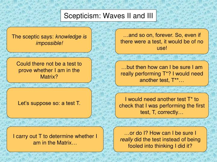 Scepticism:
