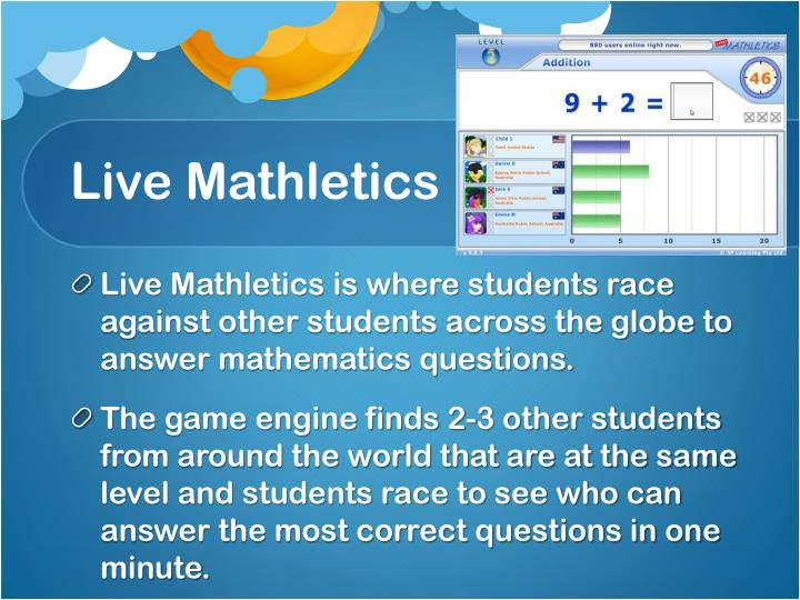Live Mathletics