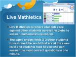 live mathletics
