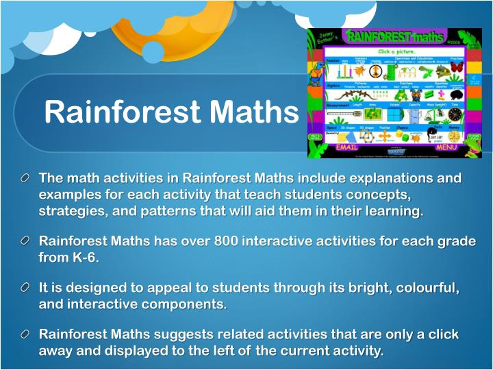 Rainforest Maths