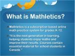what is mathletics