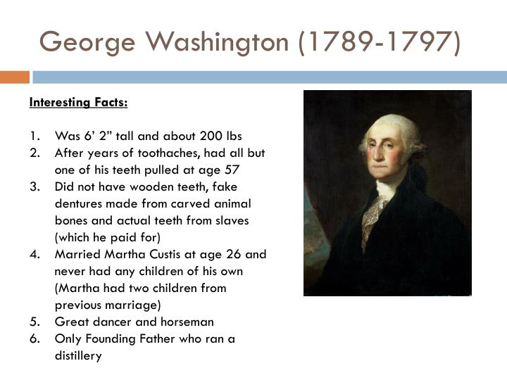 George Washington (1789-1797)