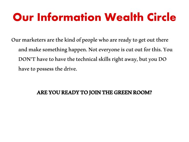 Our Information Wealth Circle