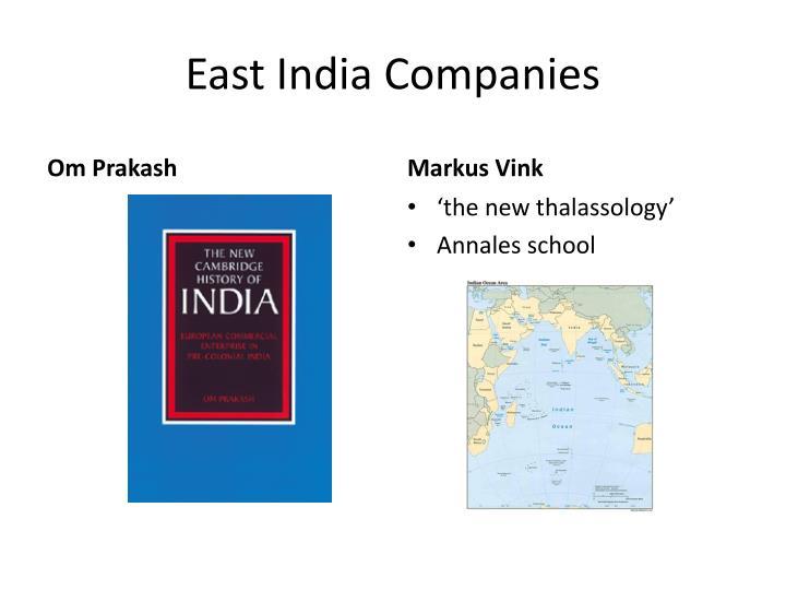 East India Companies