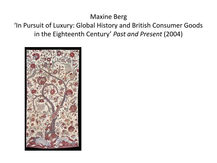 MaxineBerg