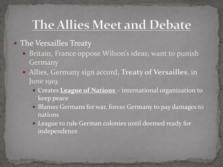 Essay: Versailles
