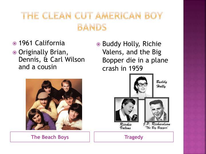 The Clean Cut American Boy Bands