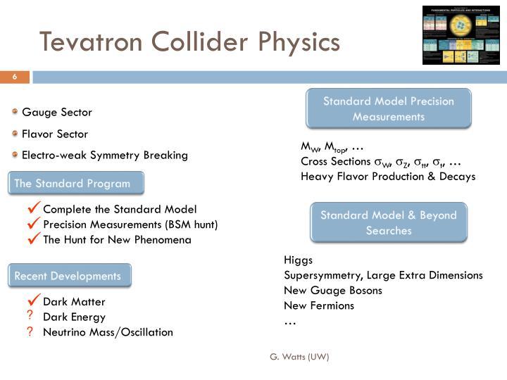 Tevatron Collider Physics