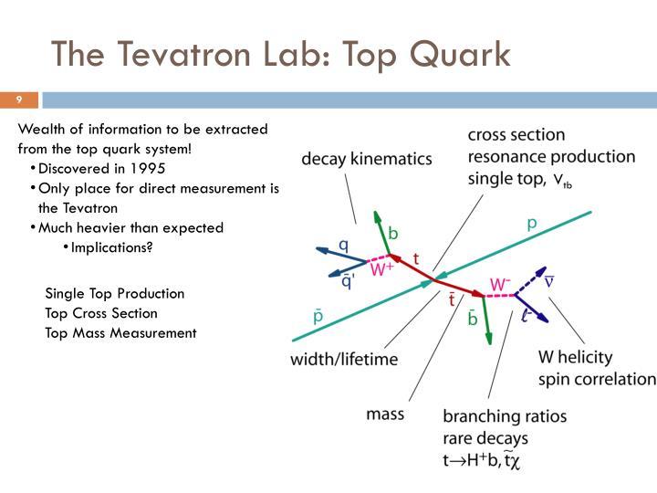 The Tevatron Lab: Top Quark