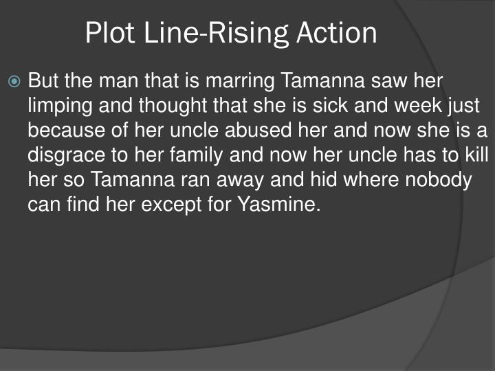 Plot Line-Rising Action