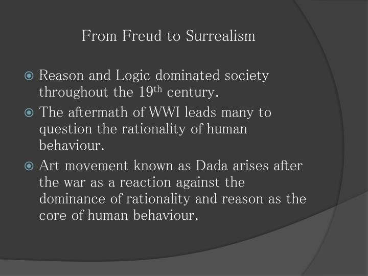From Freud to Surrealism