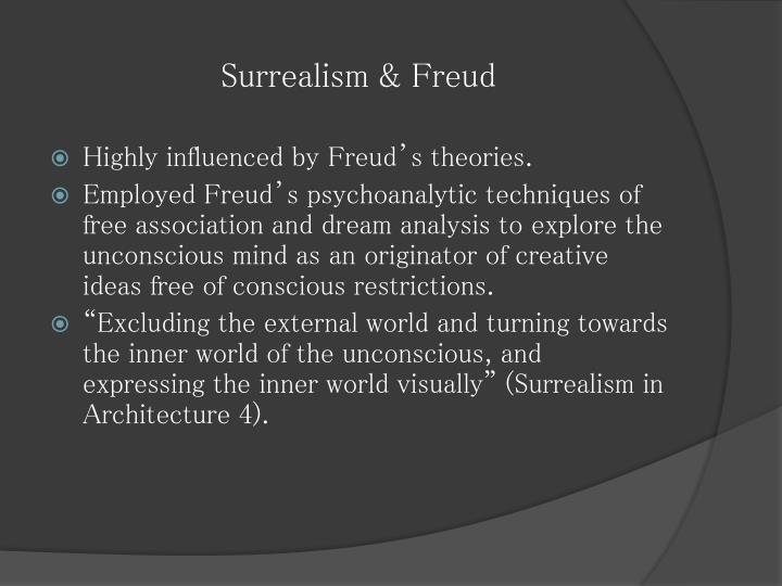 Surrealism & Freud