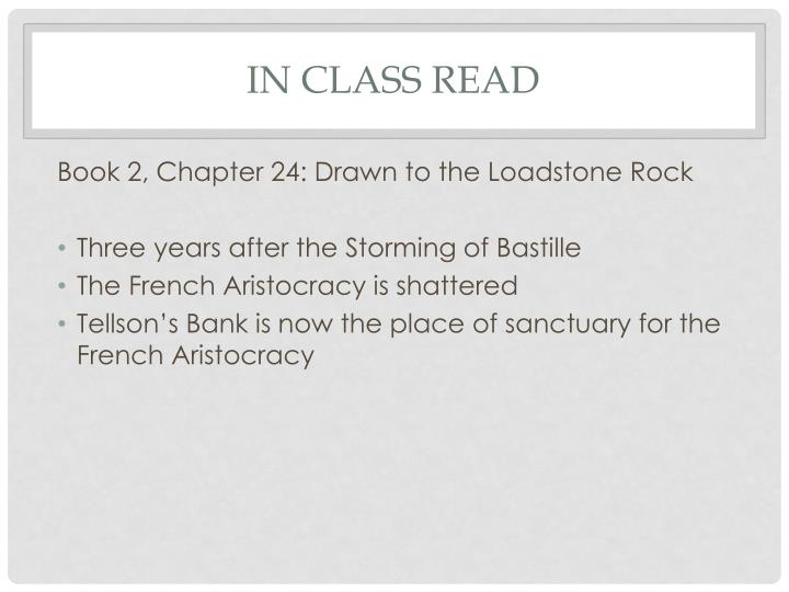In Class Read