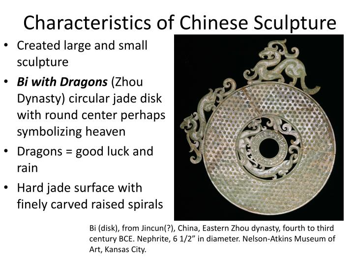 Characteristics of Chinese Sculpture