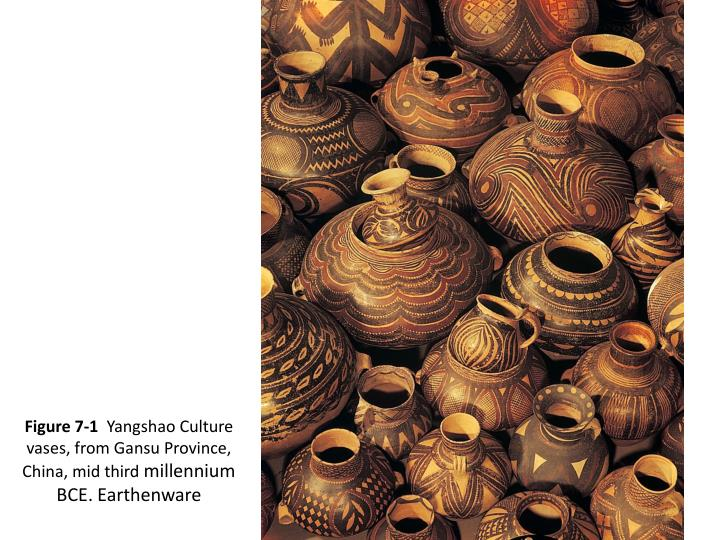 Figure 7 1 yangshao culture vases from gansu province china mid third millennium bce earthenware