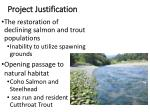 project justification