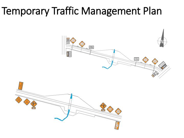 Temporary Traffic Management Plan