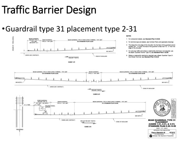 Traffic Barrier Design