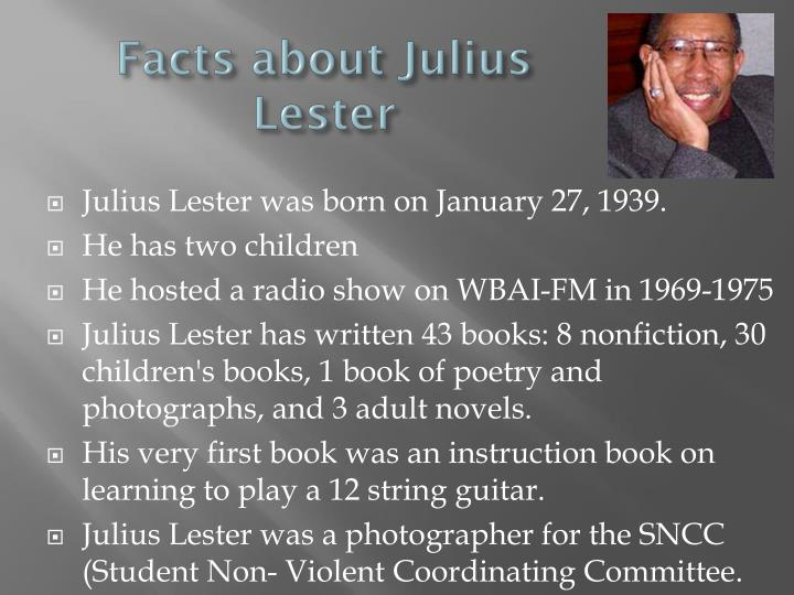 Facts about Julius Lester