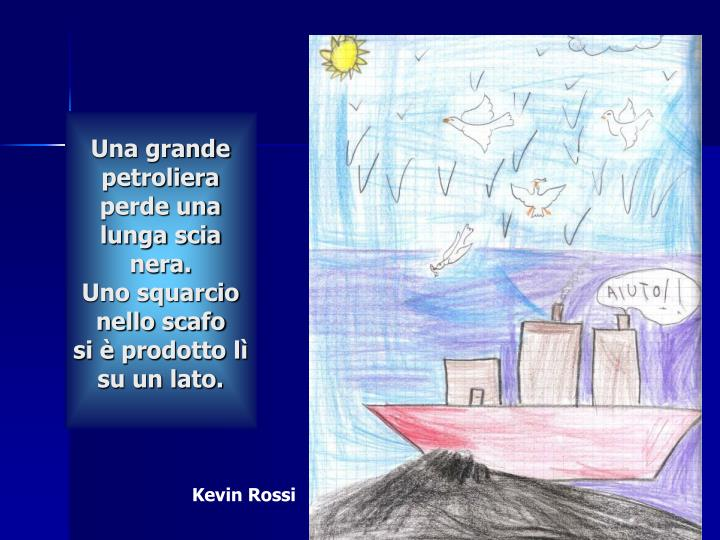 Una grande petroliera