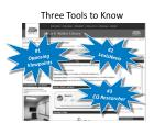 three tools to know