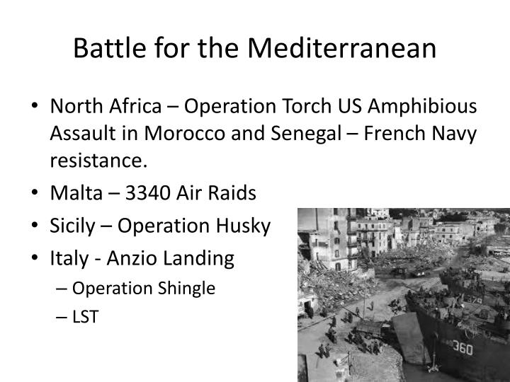 Battle for the Mediterranean