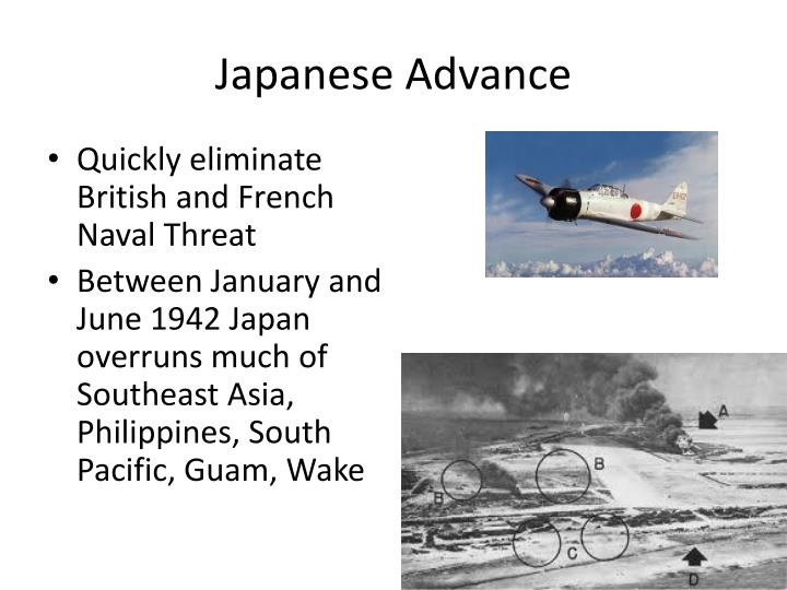Japanese Advance