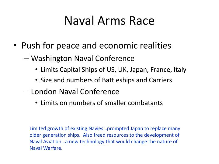 Naval Arms Race
