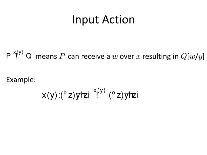 Input Action