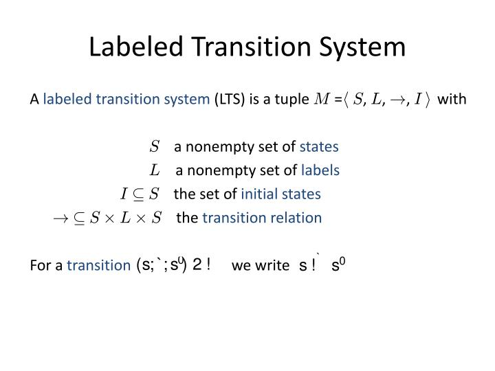 Labeled Transition System
