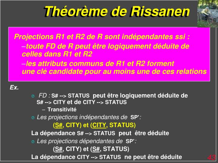 Théorème de Rissanen