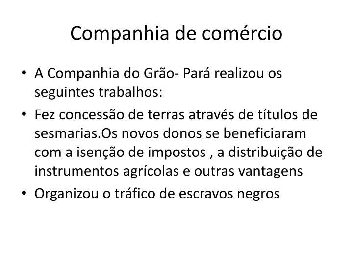 Companhia de comércio