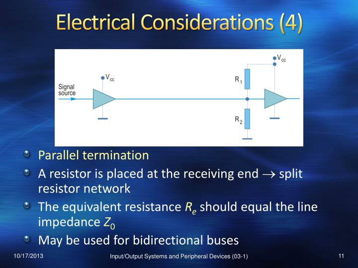 Electrical Considerations (4)