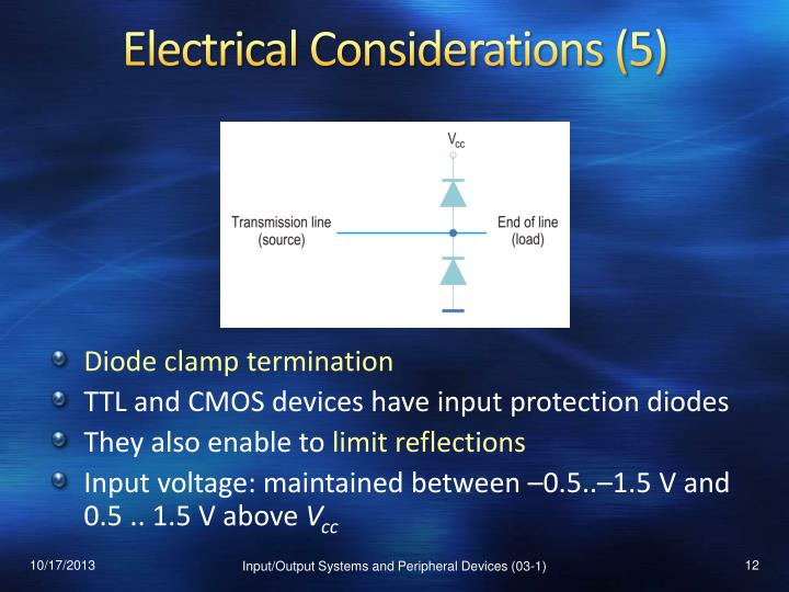Electrical Considerations (5)