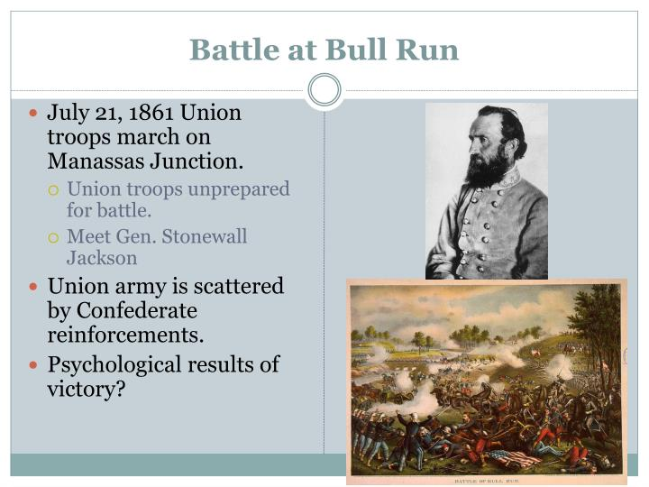 Battle at bull run