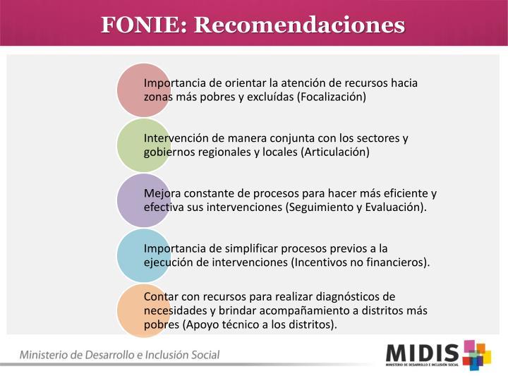 FONIE: