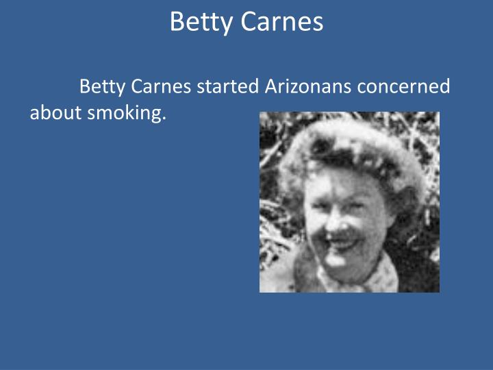 Betty Carnes
