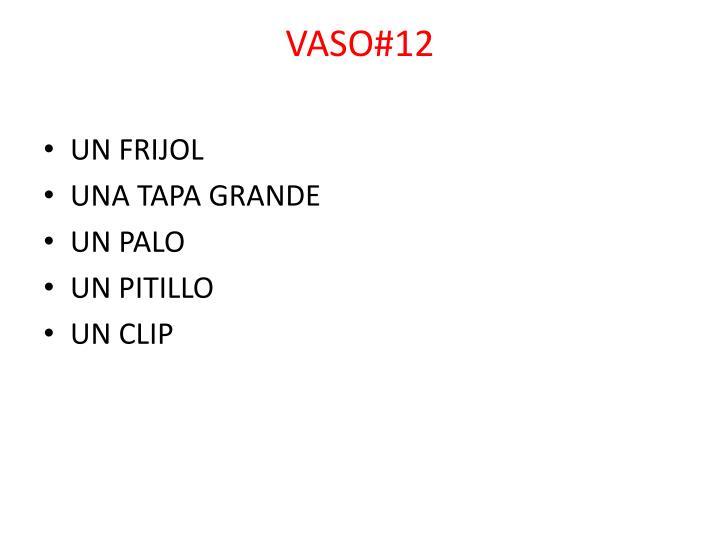 VASO#12