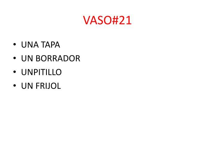 VASO#21