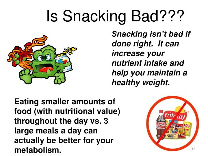Is Snacking Bad???