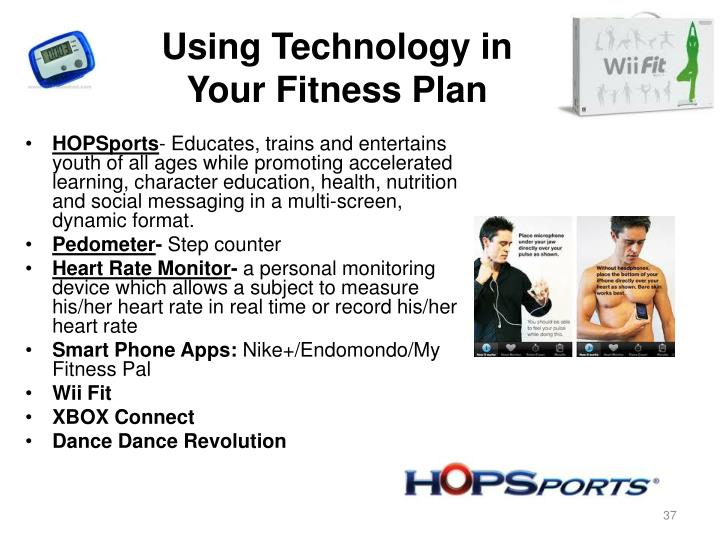 Using Technology in Your Fitness Plan