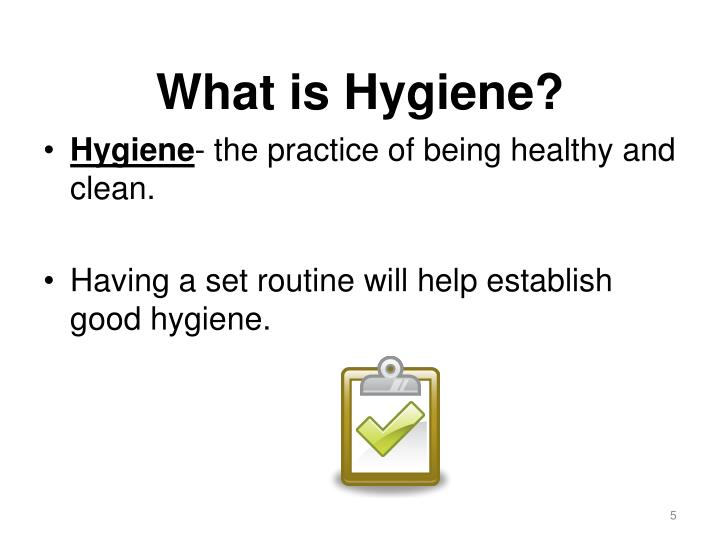 What is Hygiene?