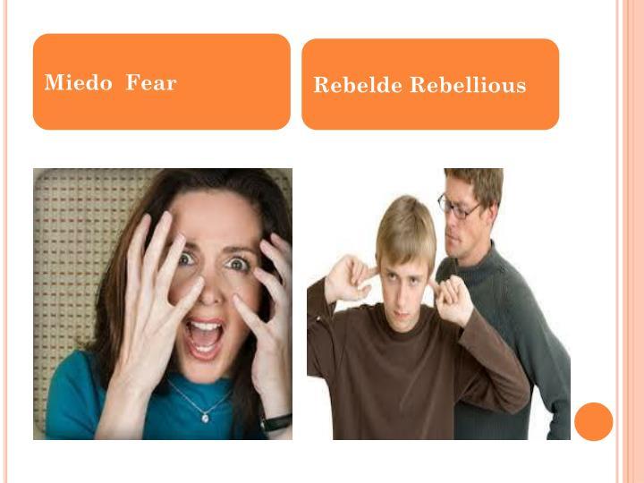 Miedo  Fear
