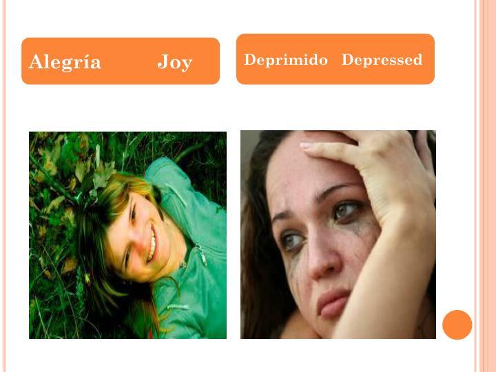 Alegría          Joy