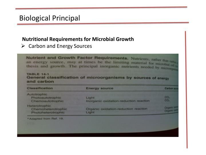 Biological Principal