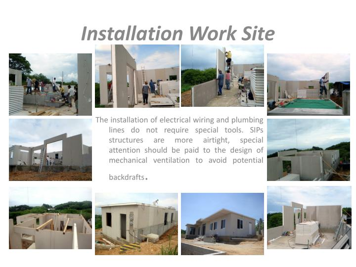 Installation Work Site